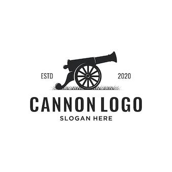 Logotipo de cañón