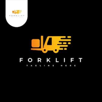 Logotipo de carretilla elevadora