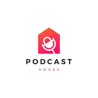 Logotipo de la casa de podcast