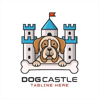 Logotipo del castillo de perro