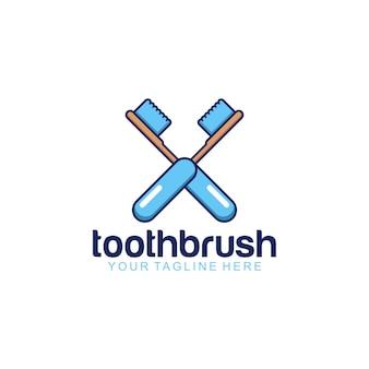 Logotipo del cepillo de dientes