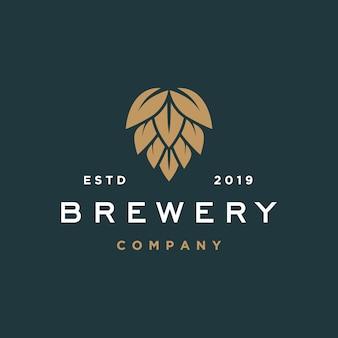 Logotipo de la cervecería de cerveza