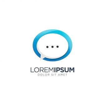 Logotipo de chat