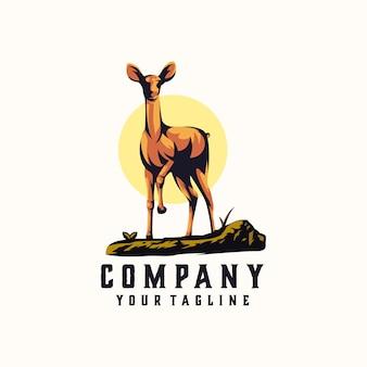 Logotipo de ciervo