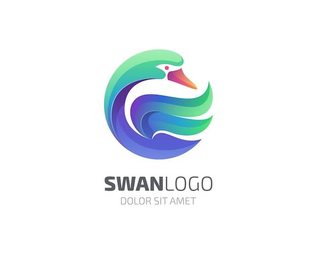Logotipo de cisne
