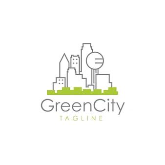 Logotipo de la ciudad verde