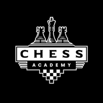 Logotipo clásico de ajedrez