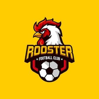 Logotipo del club de fútbol de gallos