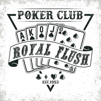 Logotipo del club de póquer