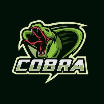 Logotipo de cobra esport
