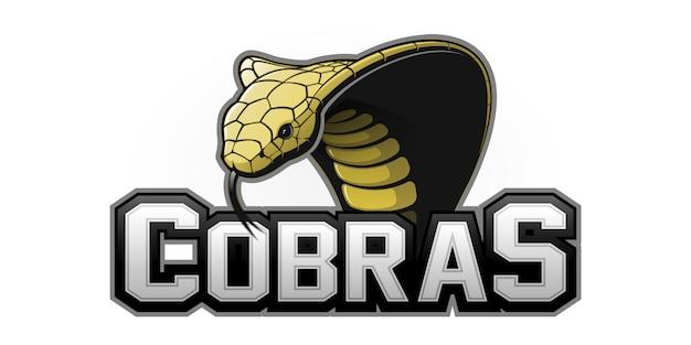 Logotipo de cobra sport