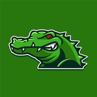 Logotipo de cocodrilo