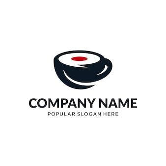 Logotipo de coffee de japón