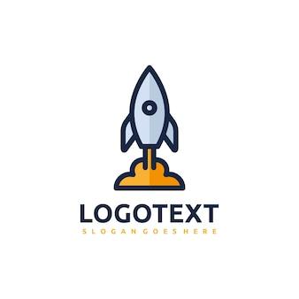 Logotipo de cohete