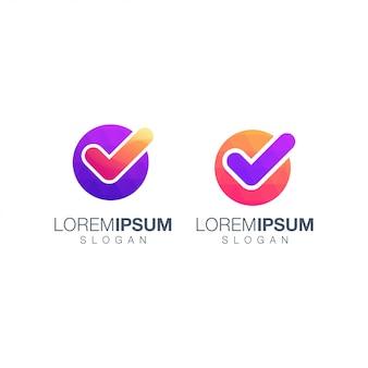 Logotipo de colecciones de listas de verificación