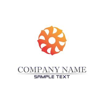 Logotipo de community care en círculo