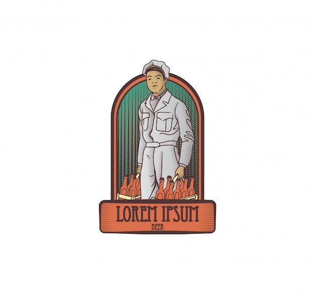 Logotipo de la compañía de cerveza