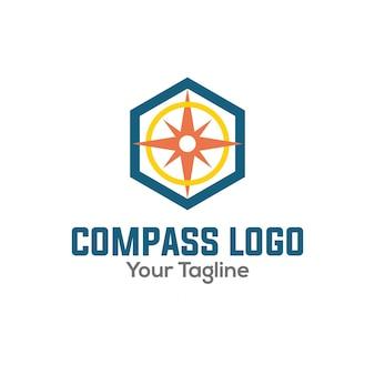 Logotipo de compas