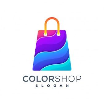 Logotipo de compras