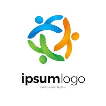 Logotipo de la comunidad humana