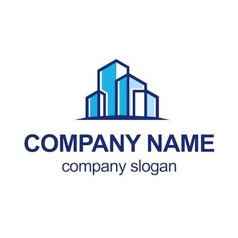 Logotipo de la construcción del arquitecto