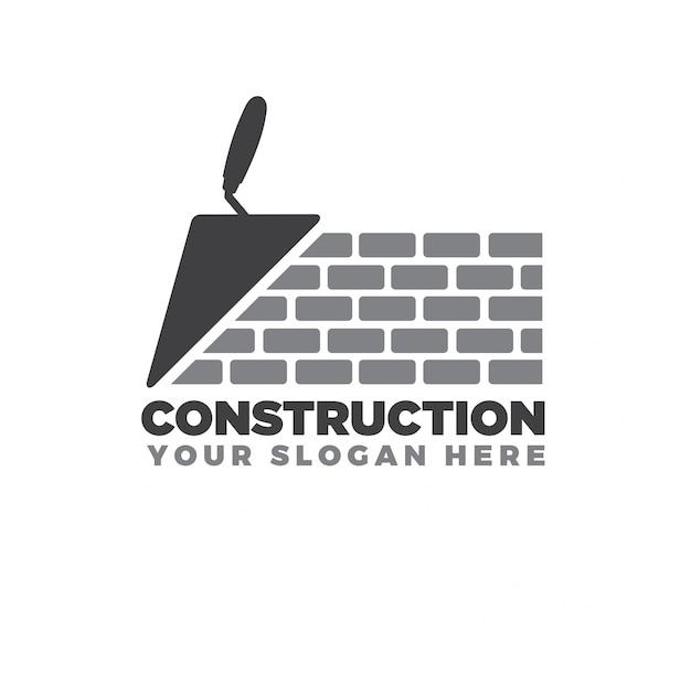 Logotipo de la construcción del hogar