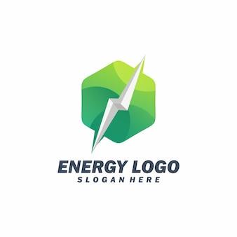 Logotipo de cube energy