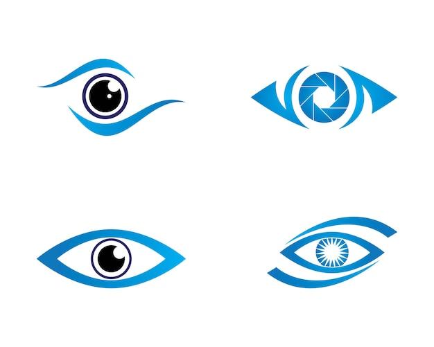Logotipo de eye care