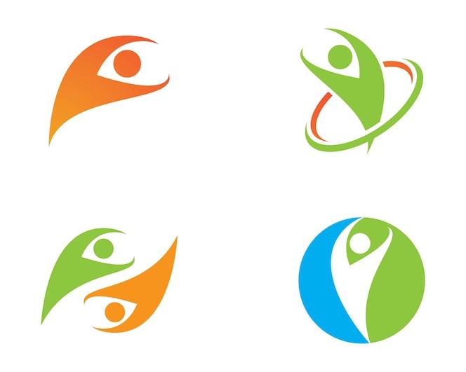 Logotipo de la vida sana