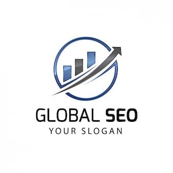 Logotipo de motor de búsqueda