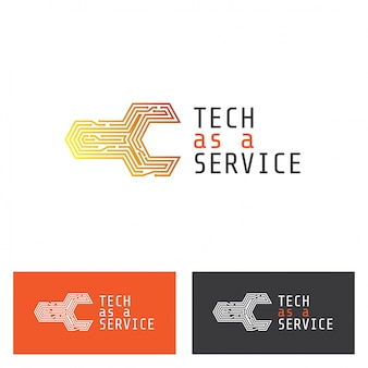 Logotipo de placa de circuito