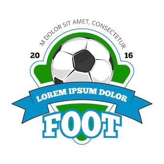 Logotipo de vector de fútbol club de fútbol