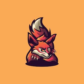 Logotipo del deporte fox