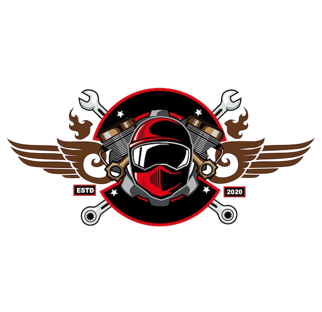 Logotipo del deporte del motor