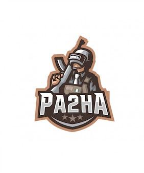 Logotipo de deportes pa2ha