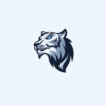 Logotipo de deportes de tigre