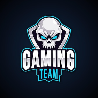 Logotipo detallado de juegos de deportes electrónicos
