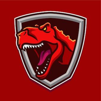 Logotipo de dinosaurio