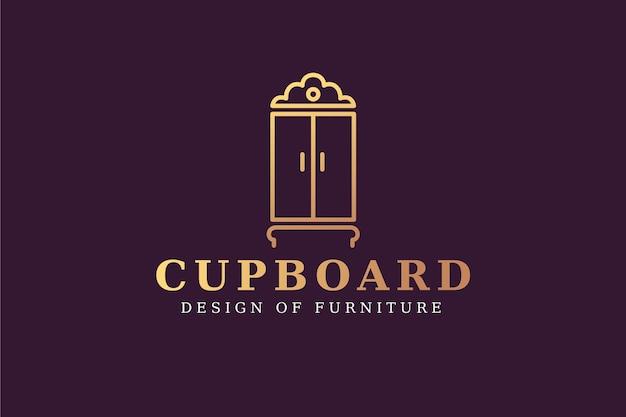 Logotipo de diseño elegante para empresa de muebles.