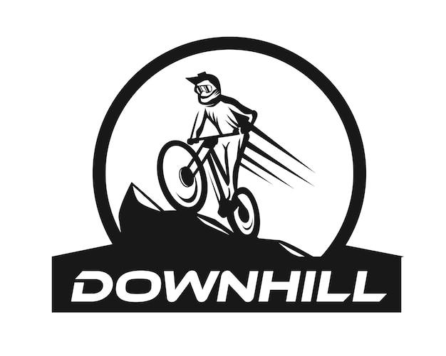 Logotipo de downhill
