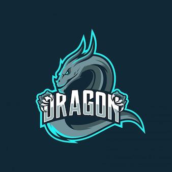 Logotipo de dragon esport