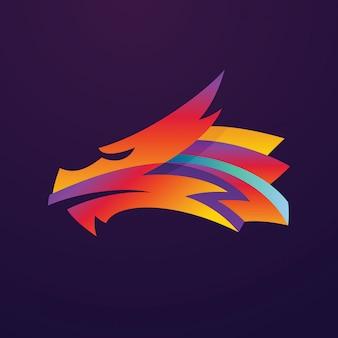 Logotipo de dragon media