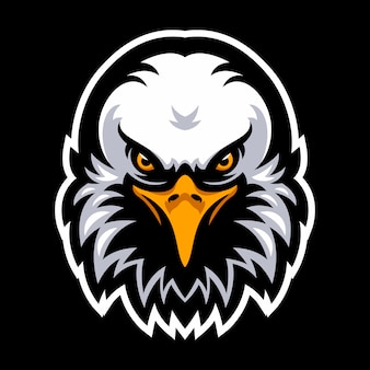Logotipo de eagle para un equipo deportivo