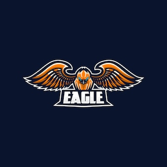 Logotipo de eagle esport
