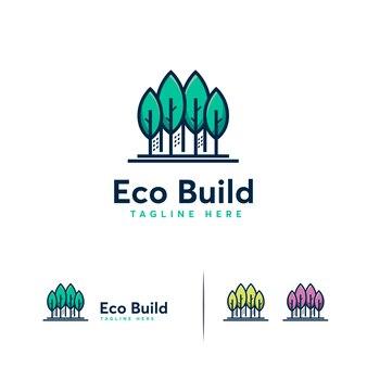 Logotipo de eco build