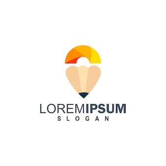 Logotipo de la educación