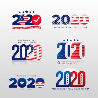 Logotipo de la elección presidencial estadounidense 2020