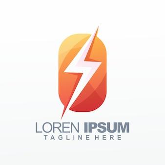 Logotipo eléctrico