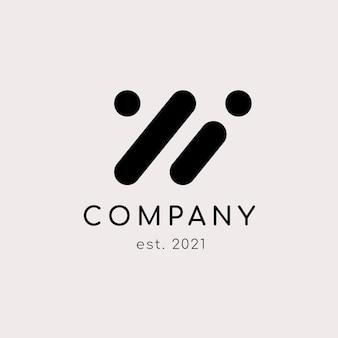 Logotipo de la empresa abstracta
