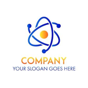 Logotipo de la empresa de ciencia empresarial